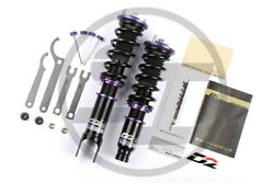 D2 RACING ADJUSTABLE COILOVERS SUSPENSION FOR MERCEDES BENZ C-CLASS 2000-07 RWD