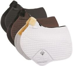 LeMieux Lambswool Close Contact Jumping Square Half Lined Saddle Pad Size L