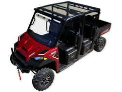Spike Tinted Poly Roof Top With Visor - Polaris Full Size Crew 570 900 2014-18+