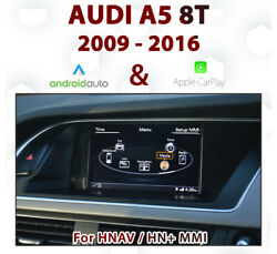 [touch] Audi A5 2009-16 Touch Overlay Apple Carplay And Android Auto Integration