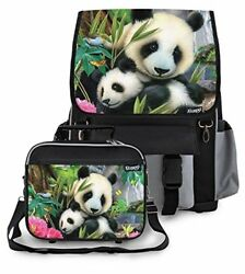 Kidaroo High Quality Backpack & Lunchbox for Girls Boys Kids With Precious