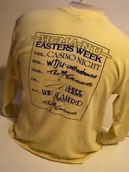 Vintage 1982 Uva Easters Party T-shirt Size Large University Of Virginia Music