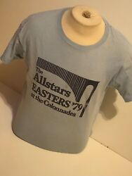 Vintage 1979 Uva Easters Party T-shirt Size Large University Of Virginia Music