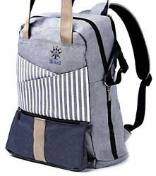 Diaper Bag Backpack by BB WELL-For women and men is cute stylish designer or