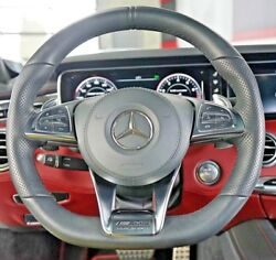 Mercedes-benz Oem C217 S63 S63 S Amg Leather Heated Steering Wheel Brand New