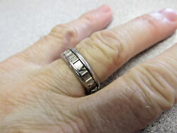 And Company 7 Mm 18k White Gold Atlas Menand039s Ring Size 9.5 Make Offer