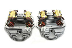 Panhead Cylinder Heads Full Assembly Fits FL 1948-1954 - Ready to install !!