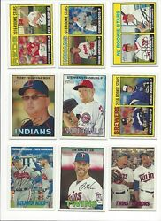 2016 Topps Heritage And039s 1-250 - Stars. Rookie Rcand039s - Who Do You Need