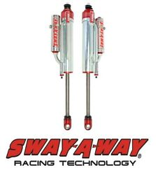 Sway-A-Way 2.5 Front Bypass Piggyback Shock Kit 3-4