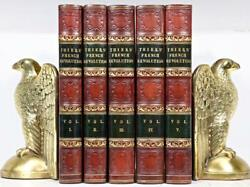 1838 1stED HISTORY OF THE FRENCH REVOLUTION NAPOLEON ILLUSTRATED FINE BINDING