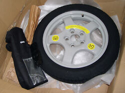 Bmw Oem F25 F26 X3 X4 Spare Wheel And Tire System With Tools Case 18 Space Saver