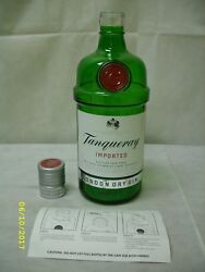 Tanqueray Gin - 14 Inch / 300 Cl Glass Advertising Dummy Display Bottle New