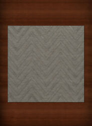 Gray Transitional Hand Hooked Stripes Chevrons Zig Zags Area Rug Striped Dv4
