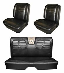 1963 Impala Ss Front Bucket /rear Bench Seat Upholstery Your Choice Of Color