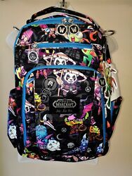 JuJuBe WOW World of Warcraft CBD Cute But Deadly BRB Be Right Back Backpack