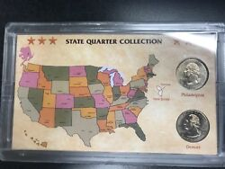 New Jersey State Quarter Collection- 2 Different Mints C-462