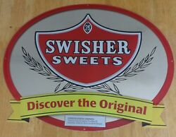 Swisher Sweets Discover The Original Cigar Tobacco Metal Tin Sign