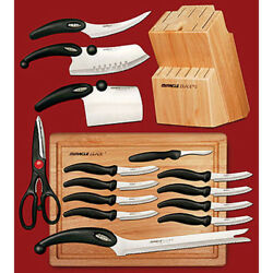 Miracle Blade Piece Knife Set Handles Optimal Comfort Safety Perfect For Cook
