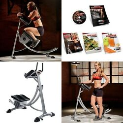 Ab Coaster Max 6 Abs Abdominal Exercise Machine Fitness Muscle Buliding Equipmen