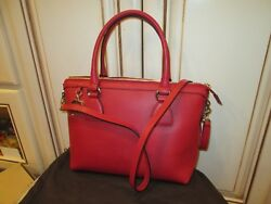 new GUCCI RED DOLLAR CALF with strap cross body bag