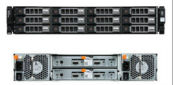 Dell Powervault Md1200 12 X 6tb 7.2k 6gbps Total 72tb Storage In 2u Rack Space