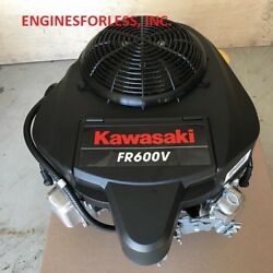 18.0 Hp Kawasaki Fr600v-as18-r Engine For Lawn Tractors And Zero-turn Mowers