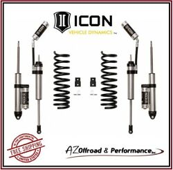 Icon 2.5 Suspension System Stage 2 Air Ride For 2014-2020 Ram 2500 4wd