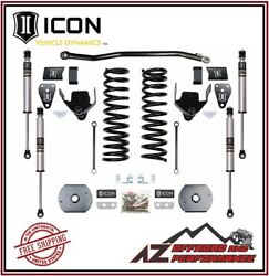 Icon 4.5 Suspension System Stage 1 Air Ride For 2014-2020 Ram 2500 4wd