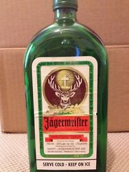 Jagermeister Bottle Ashtray - Not Melted - Very Rare