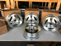 1979-84 Mustang Trx Wheels - Nos - Still In Ford Box - Set Of Four