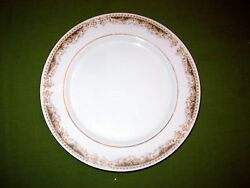 Nine Antique Dinner Plates Signature Collection Queen Anne