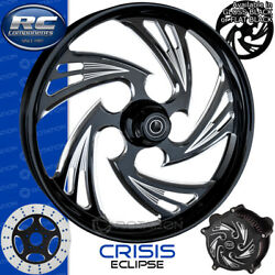 Rc Components Crisis Eclipse Custom Motorcycle Wheel Harley Touring Bagger 21