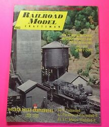 Railroad Model Craftsman Magazine May/1969...gallery Coaches Sp, Ri, Candnw, Milw