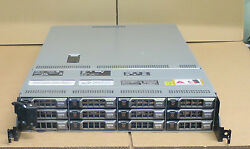Dell PowerEdge R510 2 x SIX-Core XEON X5660 2.8GHZ 12 x 600GB 15k Storage Server