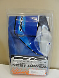 One Industries Techno Plus Blue Seat Cover Yzf, Stp-ya403