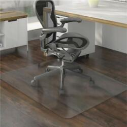 New 48 X 59 Hard Floor Home Office Pvc Mat Square For Office Rolling Chair Us