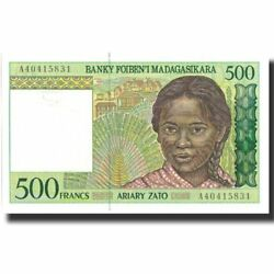 [571991] Banknote Madagascar 500 Francs = 100 Ariary Undated 1994