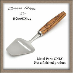 Cheese Plane Kit Lot Stainless Steel Chrome Bolster Woodturning Fast Shipping
