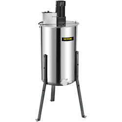 2/4 Frame Electric Honey Extractor Beekeep Centrifuge Equipment Adjustable Stand