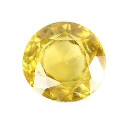 Gia Certified Loose Natural 1.89 Ct Olive Yellow Sphene Gemstone Usa Seller