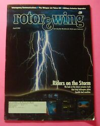 Rotor And Wing Magazine April/2002..riders On The Storm Latest Avionics Tools