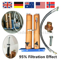 PCP Compressor Oil-Water Separator Air Filter Filtration For 30mpa Air Pump
