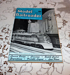 January 1947 Model Railroader For The Hobby That Goes Places Vintage Magazine