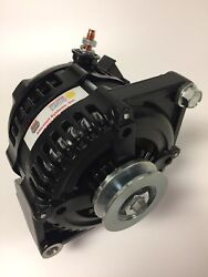 170 Amps 130a @idle 63-89 Ford Ho Black Hair Pin Load Boss 1 Wire Alternator
