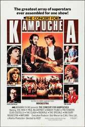 Concert For Kampuchea One Sheet Movie Poster Mccartney The Who The Clash 1980