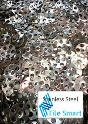 Stainless Steel Tile Backer Board Fixing Washers For Wall And Floor -100 Per Pack