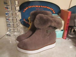 Australia Luxe Collective Bushmill Boots With Sheep Shearling Nwob Size 8