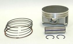 Wsm Kawasaki 750 Brute Force Complete Piston Kit 50-258-05k .50mm Over Size Only