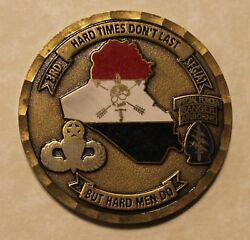 3rd Special Forces Group Airborne Commander's Army Challenge Coin