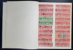 Australia Duplicated Collection In Blue Stockbook Gv Onwards Cv Stated Andpound860+